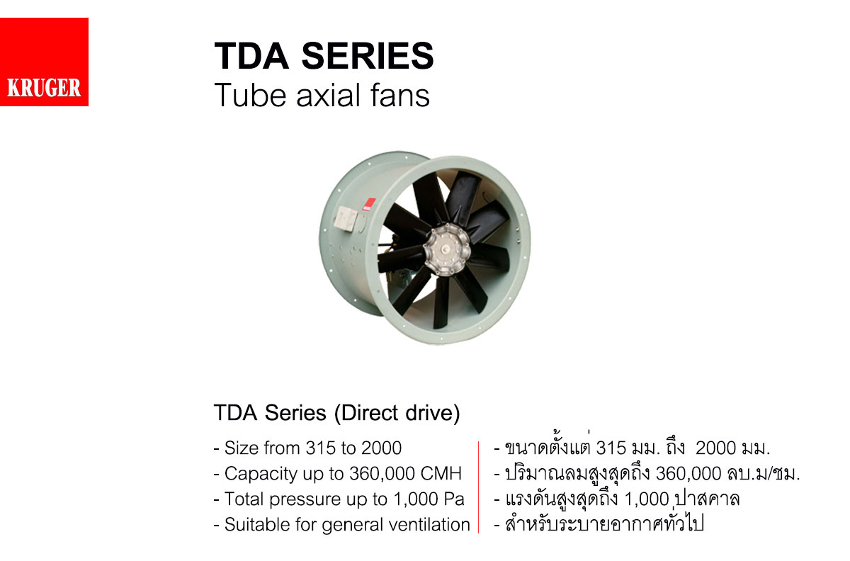 Kruger Axial Fan Catalogue